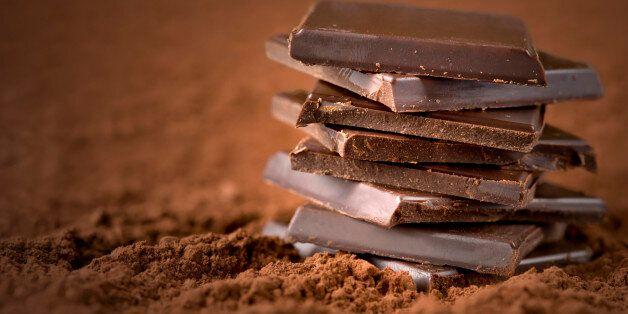 Chocolate Bars Close