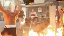 Ce bodybuilder est sans doute le plus fou d'Internet, il n'y qu'à voir son