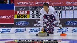 Curling: il concède la défaite avec beaucoup de style