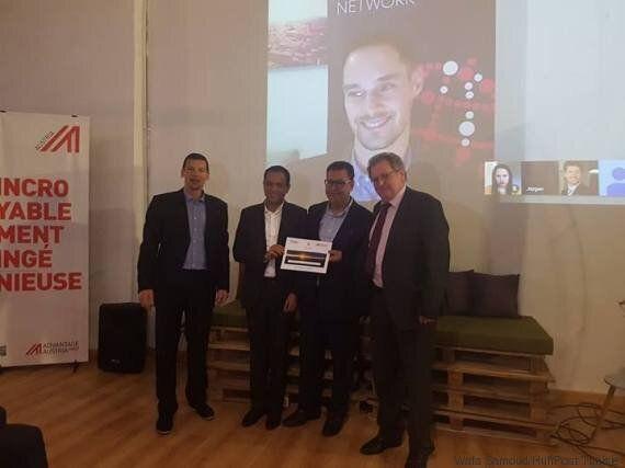 Anis Sahbani remporte the Pitch4Austria en