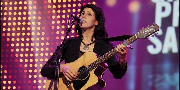Souad Massi performs onstage during the 'Grand Prix Sacem 2011', at 'Le Casino de Paris', in Paris. (Photo...