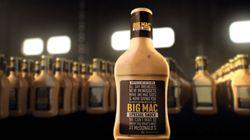McDo va distribuer des bouteilles de sa fameuse sauce Big Mac aux