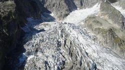 Allarme sul Monte Bianco, rischia di crollare un ghiacciaio sulle Grandes