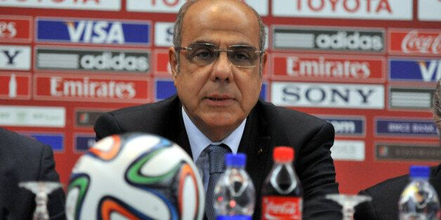 MARRAKECH, MOROCCO - DECEMBER 19: Mohamed Raouraoua Chairman of Organising Committee for the FIFA Club...