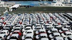 Le nombre de véhicules importés revu à la