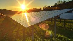 Inauguration d'une centrale solaire de 5 mégawatts à