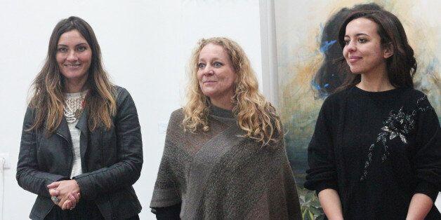 De gauche à droite: Stella, Angélique, et