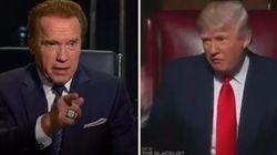 La réponse cinglante d'Arnorld Schwarzenegger à la vanne de Donald