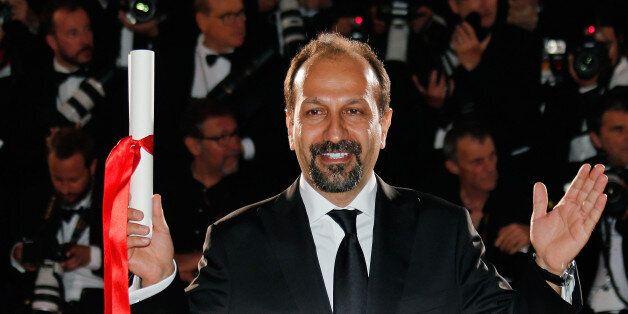 Director Asghar Farhadi, Best screenplay award winner for his