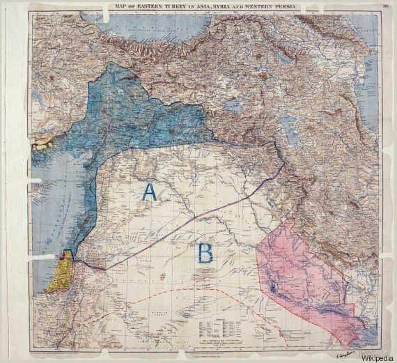 Les accords Sykes et Picot: Des frontières imposées à des peuples majoritairement arabes qui ont du mal...