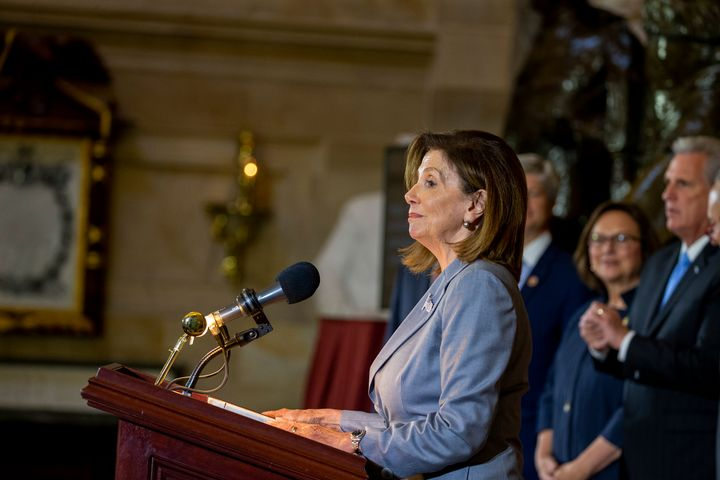 Speaker of the House Nancy Pelosi will announce an impeachment inquiry of President Donald Trump.