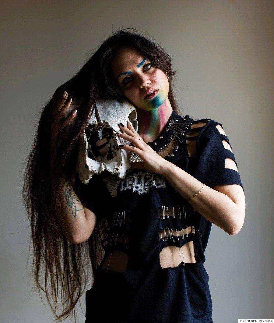 Dharma, l'artiste tunisienne venue du centre de la