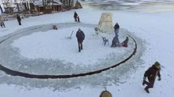 La création géniale de ce Finlandais rend les lacs gelés bien plus