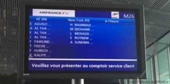 Air France l'affirme, cette photo ultra partagée n'a rien à voir avec le décret anti-immigration de Donald