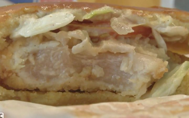 A woman in Goodyear, Arizona, says she was a sold a raw chicken sandwich at her local Burger King.