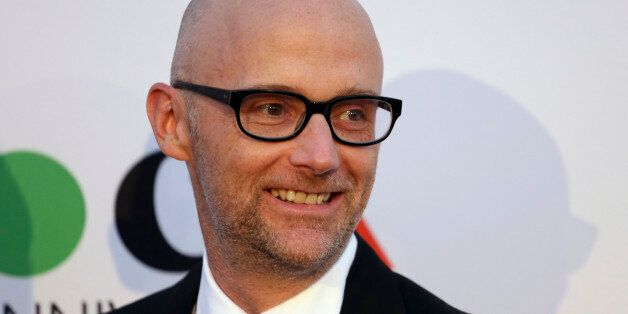 Musician Moby attends MOCA's 35th Anniversary Gala presented by Louis Vuitton at The Geffen Contemporary...