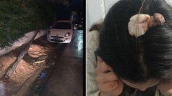 Une femme frôle la mort par un poteau électrique. La municipalité de Mutuelleville réagit