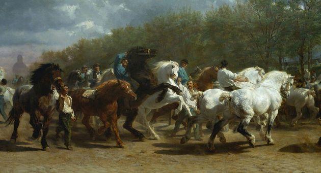 'La fira de cavalls', obra de Rosa