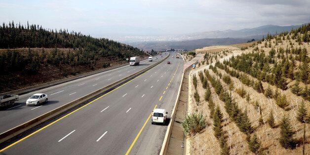 L'autoroute est-ouest au niveau de la wilaya d'Ain Defla (Photo by Billal Bensalem/NurPhoto) (Photo by...