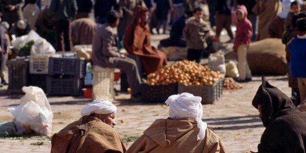 ALGERIA - MAY 11: View of Ghardaia market, Algeria. (Photo by DeAgostini/Getty