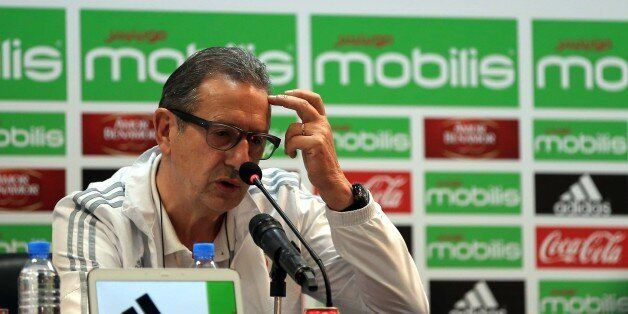 National coach Georges Leekens hosted a press conference in the conference room of the Olympic Complex...