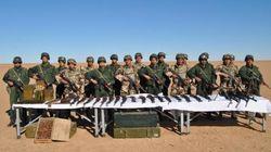 En photos: Un important lot d'armes saisi à l'extrême sud de