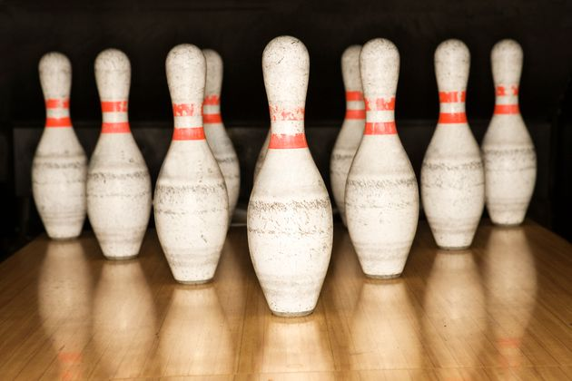 Passengers can carry on their bowling balls, but bowling pins are not