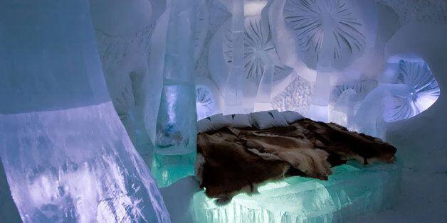 Les plus beaux hôtels de glace au monde