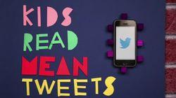 «Kids Read Mean Tweets», une vidéo contre l'intimidation en