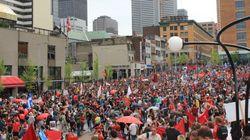Des étudiants appellent à une « grève sociale