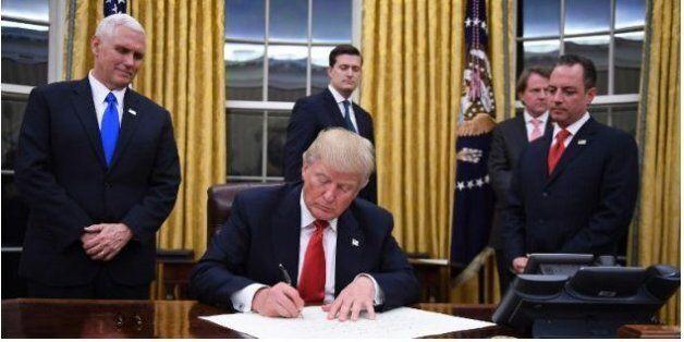 Donald Trump n'a pas perdu une seconde pour commencer à détricoter