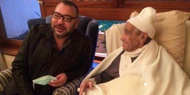 Le roi Mohammed VI au chevet de M'hamed Boucetta