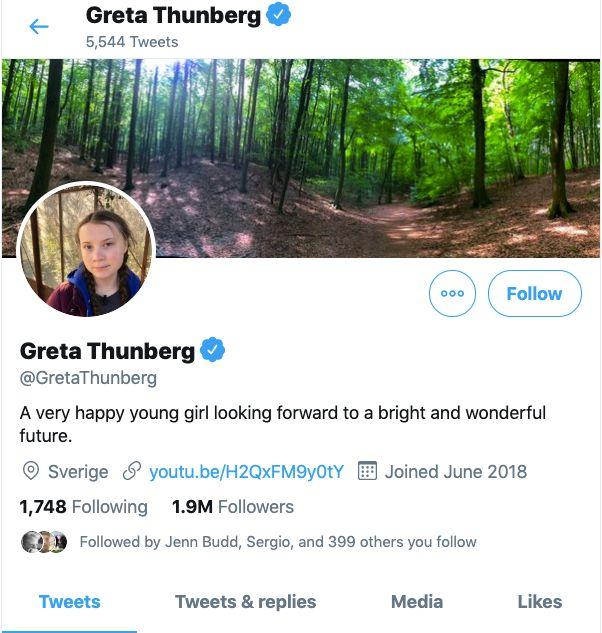 Greta Thunberg Responds To Trump's Mocking Tweet With Some Genius