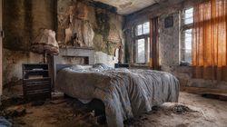 Des maisons abandonnées, mais toujours pleines de