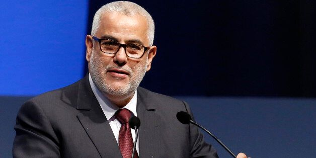 Morocco's Prime Minister Abdelilah Benkirane addresses the World Islamic Economic Forum in London October...