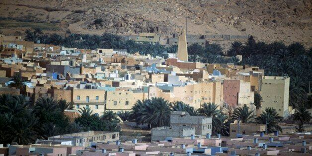 ALGERIA - MARCH 5: View of Bou Noura, M'Zab Valley (UNESCO World Heritage List, 1982), Algeria. (Photo...