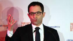 Primaire de gauche française: Benoît Hamon en tête avec 36,21%, devant Manuel Valls