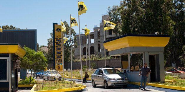 Nafta petrol station in Algiers, Algeria. (Photo by Monique Jaques/Corbis via Getty