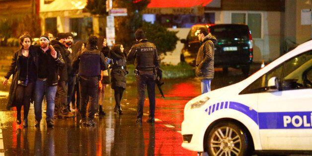 Police secure area near an Istanbul nightclub, Turkey, January 1, 2017. REUTERS/Osman