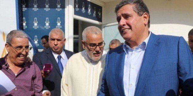 Abdelilah Benkirane rencontre Aziz Akhannouch