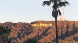 Les célèbres lettres de Hollywood ont bien changé pendant le