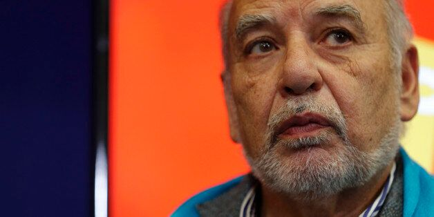 Moroccan writer Tahar Ben Jelloun attends a ceremony for the Prix Goncourt des Lyceens prize at the Education...