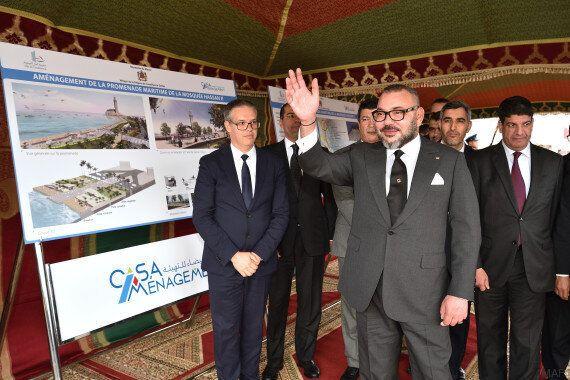 Le nouveau look du roi Mohammed