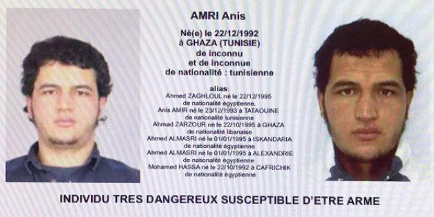 Abattu à Milan: De Tunis à Berlin, le parcours sinueux d'Anis Amri, principal suspect de l'attentat du...