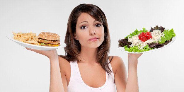 Hamburger ou salade: le combat