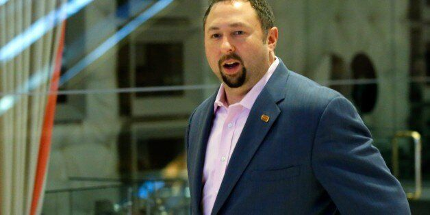 Campaign communications director Jason Miller, arrives at the Trump Tower for meetings with US President-elect...