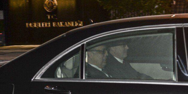 ANKARA, TURKEY - DECEMBER 07: Russian Ambassador to Ankara, Andrey Karlov leaves Turkish Foreign Ministry...