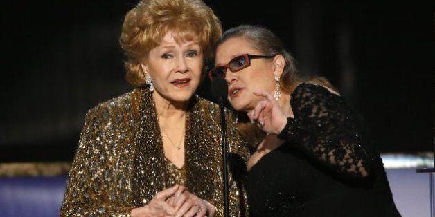 Debbie Reynolds, la mère de Carrie Fisher et star d'Hollywood est morte, un jour après