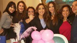 Latifa et Hend Sabri à l'anniversaire surprise de Feriel Youssef: Danse et chant folklorique en
