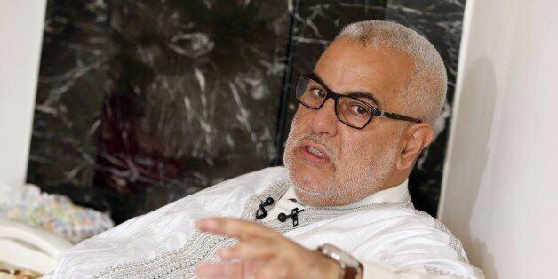 Moroccan Prime Minister and leader of the Islamist Justice and Development Party, known as the PJD, Abdelilah...